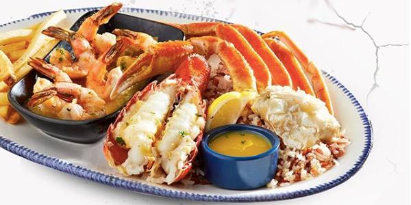 Taste varieties of seafood recipes in best resturant