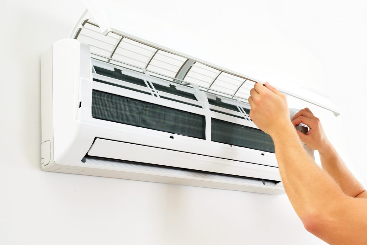 What are the common causes of leakages in AC?